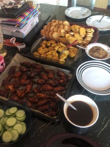 Miriam's DT- roast dinner