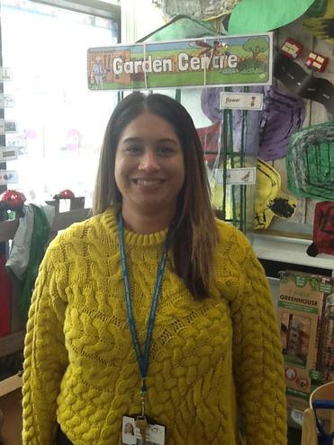 Miss Ghairal Nursery Nurse Ebardhe Nursery