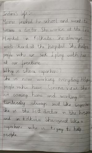 Writing- Report by Aryav, E Kalter