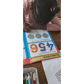 She is been doing counting and recording numbers