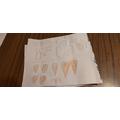 She drew a birthday card for her sister Jennifer