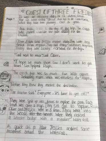 Harry's adventure story- Verde Class