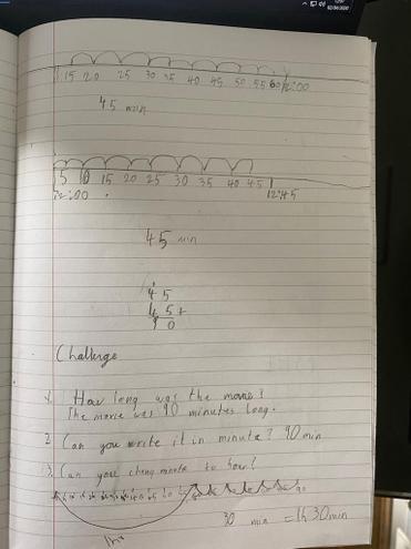 Maths- measuring time by Pranav, E Kalter class