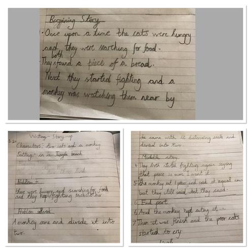 A short narrative by Anaya, Blue class