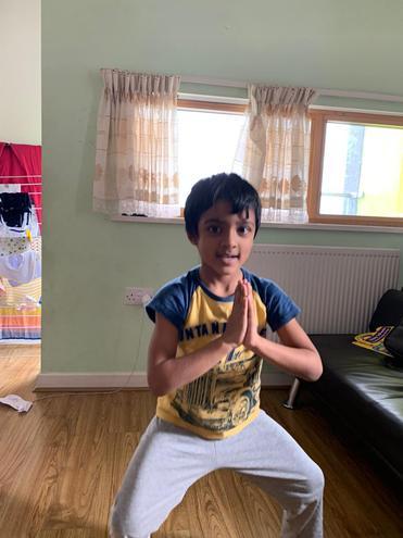 PE-a fantastic skill by Mukhil, Blue class