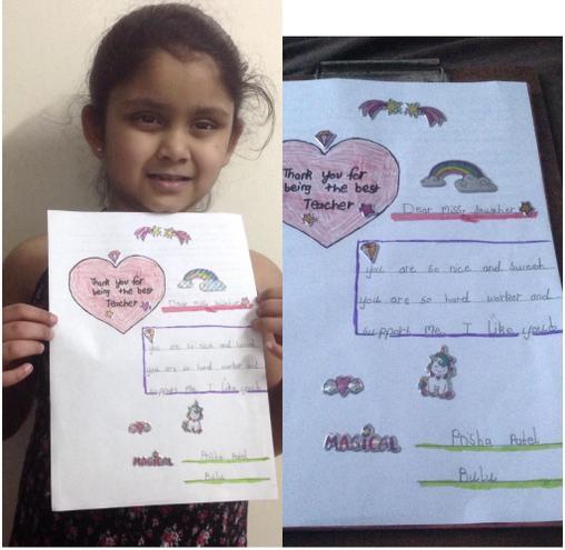 Thank You from Prisha, Bulu