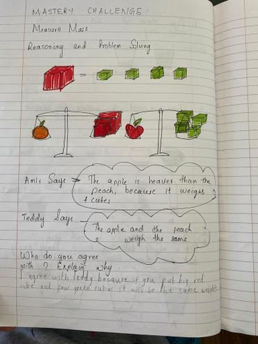 Maths mastery challenge by Pranav, E Kalter class