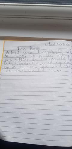 Creative writing by Abdulazeez, Azul class