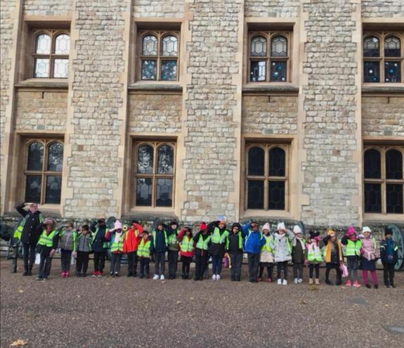 Our trip to the Tower of London. (Attention!!)