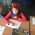 Year 5 superheroes hard at work.