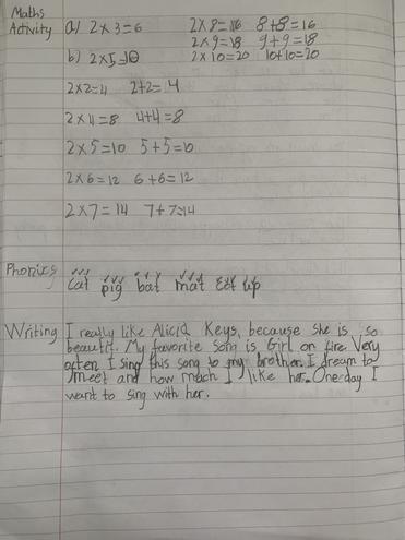 Maths- Making doubles by Ivayla, Bulu