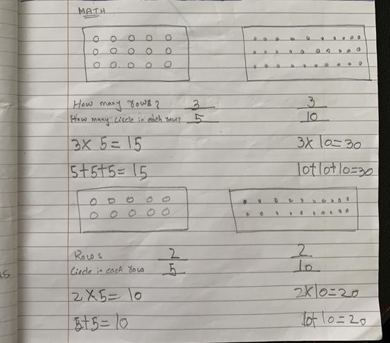 Maths-brilliant douibles by Eshaal, Bulu