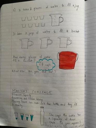 Maths-capacity by Pranav, E Kalter class