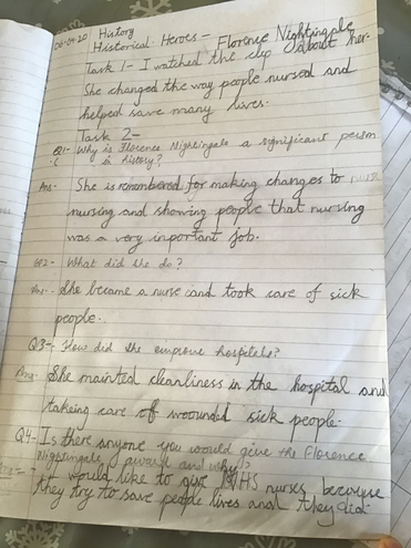 Facts about Florence Nightingale by Anaya, Blue