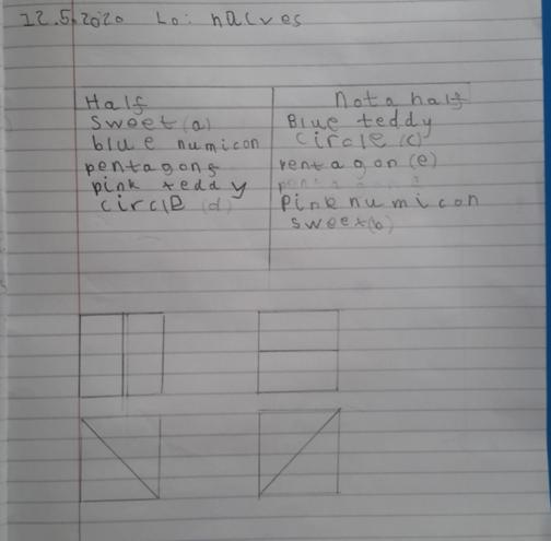 Maths- Halving by Aayan, E Kalter