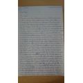 Ernest's 'Dustin' diary part 1