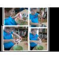 Ernest's digestion experiment!