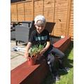 Stanley's gardening