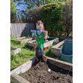 Gatcombe Scarecrow