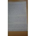 Ernest's 'Dustin' writing part 1
