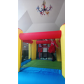 Bouncy castle indoors