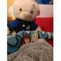 A big bear friend at Lucas'