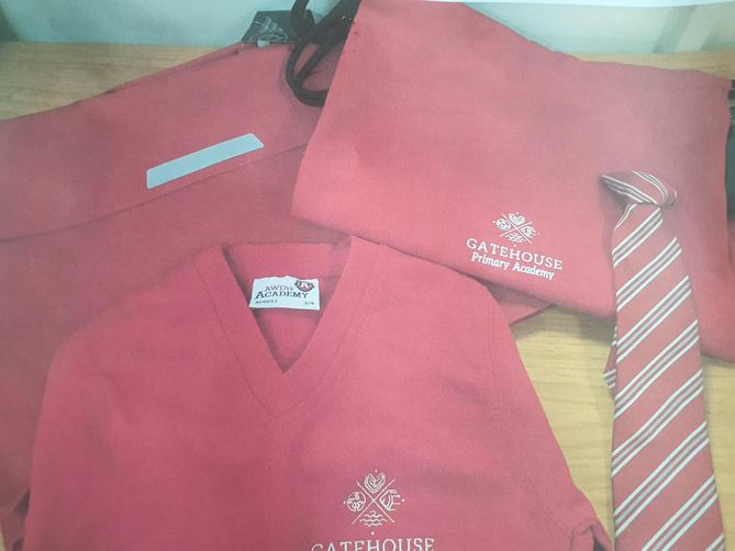 New Uniform on non uniform day Tuesday 7th September