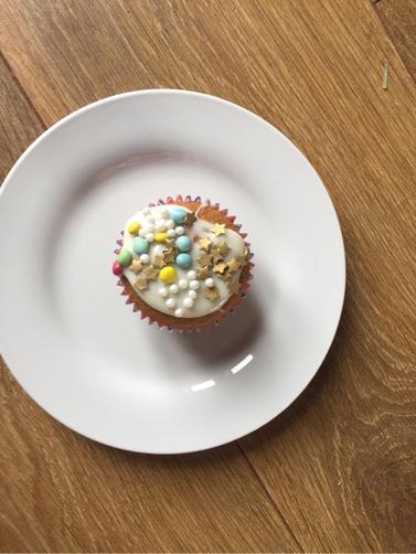 Cody's carrot cupcakes