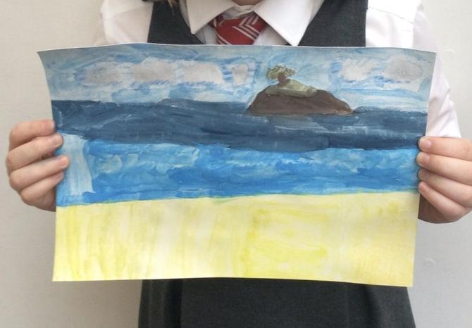 Landscape painting by Phoebe
