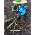 Forest School - Building houses