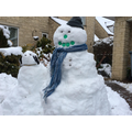 Mrs Scovell's Snowman and Snowdog