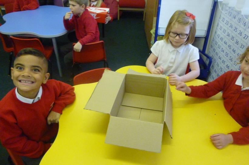 Hufflepuff's box for the nest.