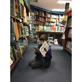 Visit to Blackwell's Bookshop in Oxford
