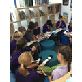 'Reading for Pleasure' in the library
