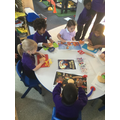 Nursery activities linked to their favourite books