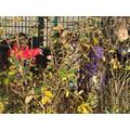 Camouflaged children