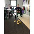 Duckings visited us from Nursery