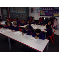 Everyone was really keen to write.