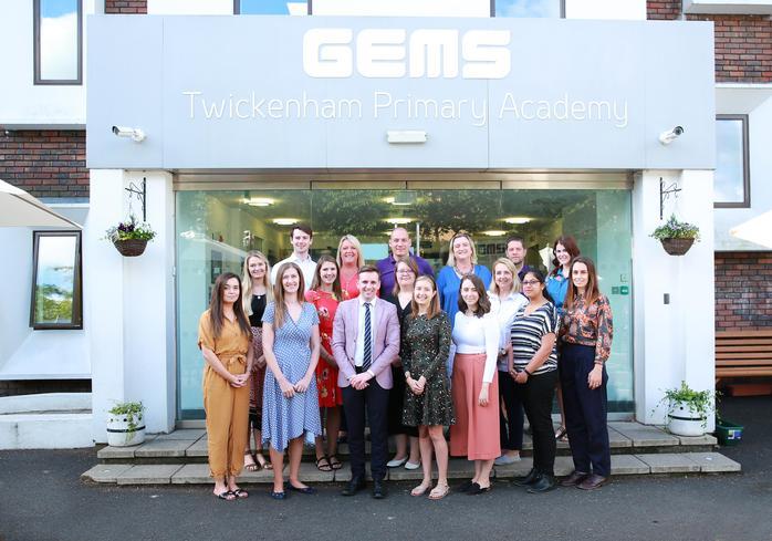 GEMS Twickenham Primary Academy: Whole Staff Photo