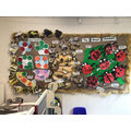 We used a variety of media to develop and create our patterns.