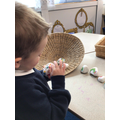 We have used the story stones to retell the story.