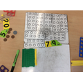 representing numbers using different equipment