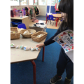 We have been using The Very Hungry Caterpillar story stones.