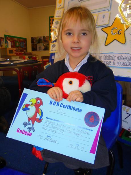 Well done Ella!