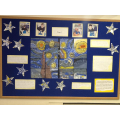 This is our Starry Night display.