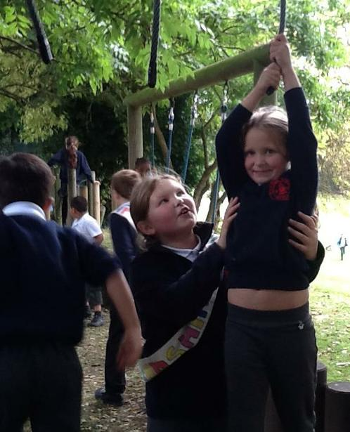 We help younger children.