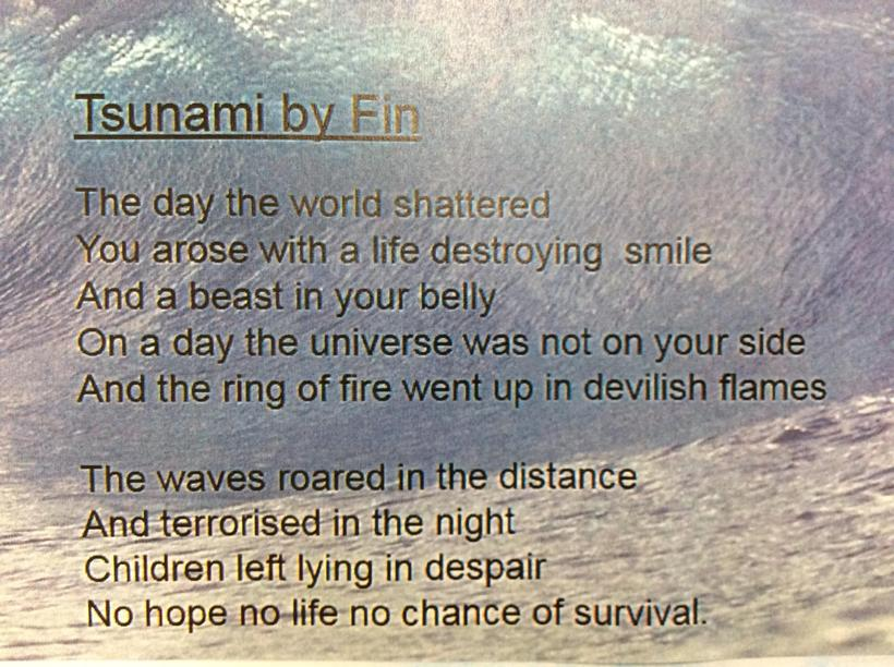 Inspired by Tsunami: A Poem for Japan