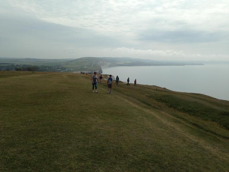 Walking on Tennyson Down