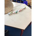 We have sequenced the story stones, remembering to use the leading character and events.