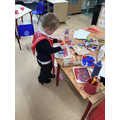Exploring junk modelling and creating collages.
